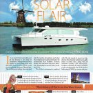 2011 Horizon SC46 Solar Yacht Review- Nice Photos