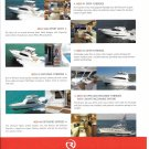 2008 Riviera Yachts Color Ad- Photos of 6 Models