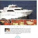 2008 Hampton 630 Pilothouse Motor Yacht Color Ad- Nice Photos