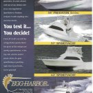 2002 Egg Harbor Boats Color Ad- Nice Phots of 4 Models