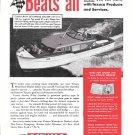 1948 Texaco Marine Products Ad- Nice Photo Chris- Craft 40 Express Cruiser