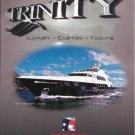 "2005 Trinity 157' Yacht Color Ad- Nice Photo of the ""Janie"""