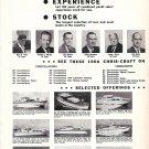 1965 Rodi Chris- Craft Boats 2 Page Ad- Photos of 9 Chris- Craft