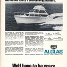 1968 Pacemaker Alglas 31' Yacht Ad- Nice Photo