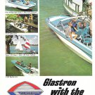1967 Glastron Boat Co 2 Page Color Ad- Photos of 9 Models