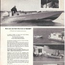 1967 Fisher- Pierce Co Boston Whaler Boats Ad- Nice Photos