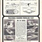 1967 John Allmand Boats Inc Ad- Photos of 23' Series Models