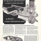 1967 Crestliner Boats Ad- Nice Photo- Hot Girl