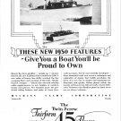1929 Huckins Yacht Corp Ad- Nice Photo 1930 Fairform Flyer