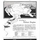 1929 Palmer Marine Engines Ad- Drawing