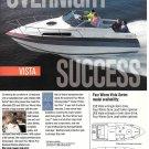 1991 Four Winns Vista 265 Boat Color Ad- Nice Photo