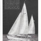 1945 Truscott H28 Sailboat Ad- Nice Drawing