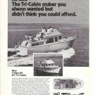 1975 De Fever Passagemaker 42' Yacht Ad- Nice Photo