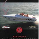 1998 Donzi Marine Donzi 22 ZX Boat Color Ad- Nice Photo- Hot Girl