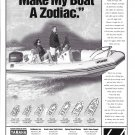 1998 Zodiac Pro pen 550 Boat Ad- Nice Photo