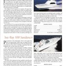 1998 Viking 55 & Sea Ray 500 New Boats Review- Photos & Specs