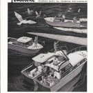 1962 Pembroke Boats Ad- Drawing of 4 Models