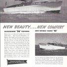 1955 Richardson Boat Co Ad- Nice Photos of 34 & 41 Models