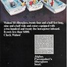 1969 Pacemaker Alglas 24' Boat Color Ad- Nice Photo
