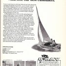 1969 O'Day Day Sailer Sailboat Ad- Nice Photo and Specs