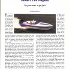 1993 Howard 220 Magnum Boat Review- Nice Photos & Specs