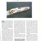 "1993 Skater 32' Boat ""Wits End"" Review- Nice Photos"