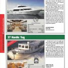 2008 Ocean Alexander 88 & Nordic Tug 37 New Boats Review-Specs & Photos