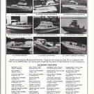 1975 John Allmand Boats Inc Ad- Photo of 9 Models