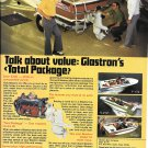 1975 Glastron Boat Co Color Ad- Photo of 4 Models
