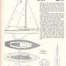 1963 Graves Yacht Yard 29' Fiberglass Sloop Ad- Drawings & Specs
