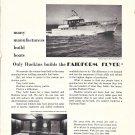 """1969 Huckins Atlantic 60 Yacht """"Connie IV"""" Yacht Ad- Photos"""