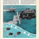 1968 Chrysler 150 Inboard/ Outdrives Ad- Nice Photo