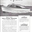 1947 Owens Yacht Co Ad- Nice Photo 1- Cabin Flagship