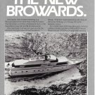 1984 Broward Marine Ad- Nice Photo of Broward Yacht