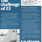 1979 Seafarer 23' Yacht Ad- Photo & Diagram