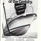 1979 Texaco Marine Ad- Nice Photo of Century Raven 270 Yacht