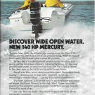 1971 Mercury Merc 1400 140 HP Outboard Motor Color Ad- Nice Photo