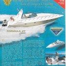 2003 Thunderbird Formula 47 Yacht Color Ad- Nice Photo