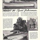 1946 Truscott 24' Sport Fisherman Yacht Ad- Nice Photos