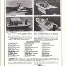 1975 Drummond Yachts Ad- Photo of 4 Models