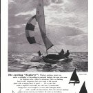 Old Sailstar Explorer 17' Sailboat Ad- Nice Photo