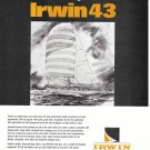 1970 Irwin 43 Yacht Ad- Drawing