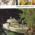 1964 Bertram 38 Express Yacht 2 Page Color Ad- Nice Photos