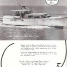 1958 Stephens 58' Flush Deck Yacht Ad- Nice Photo