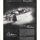 1958 Cruisers Vacationer 18' Boat Ad- Nice Photo