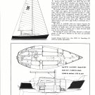 1972 Morgan 27 Yacht Ad- Drawings & Specs