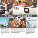 1972 Columbia 34 Yacht Color Ad- Nice Photos