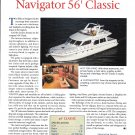 2002 Navigator 56' Classic Yacht Review- Photo & Specs