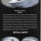 1999 Bayliner LX & DX Boats Color Ad- Photo of 3 Models