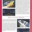 2001 Larson LXi 190 & Rinker 192 New Boats Ad- Specs & Photo
